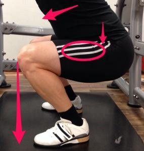 Squat, hip wide