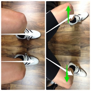 Squat form, feet angles
