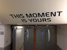 This moment is yours